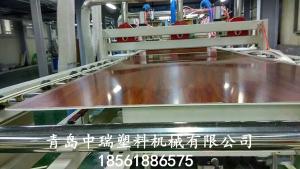 PVC大理石板材生产